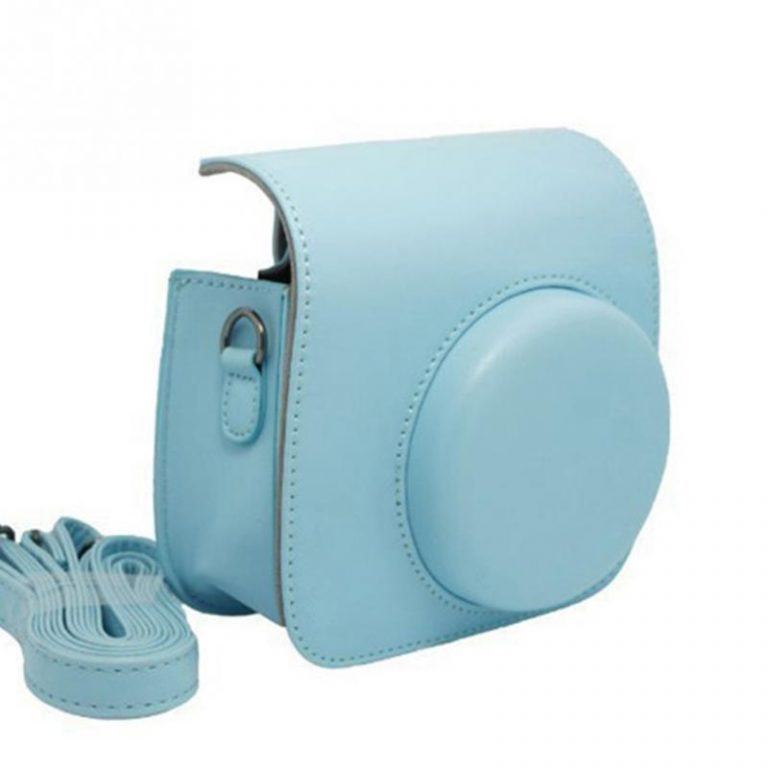 instax hoes blauw