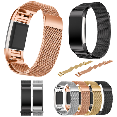 fitbit charge 2 milanese bandjes